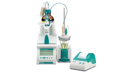 Karl Fischer titration: 870 KF Titrino plus